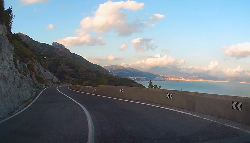 Costiera Amalfitana: riaperta al traffico l'intera strada statale 163