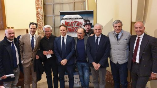 "Insieme per Sarno: venerdì all'Augusteo ""Mostri a parte"" di Maurizio Casagrande per raccogliere fondi"