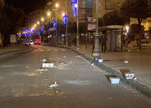 Botti di Capodanno, 10 feriti non gravi registrati a Salerno e provincia