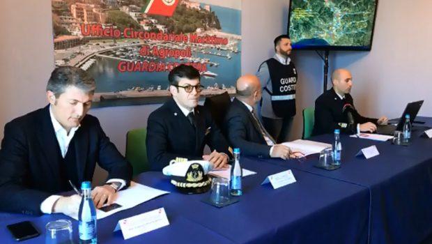 Scarichi illeciti nella fiume Alento, blitz della guardia costiera di Agropoli: 10 aziende nei guai