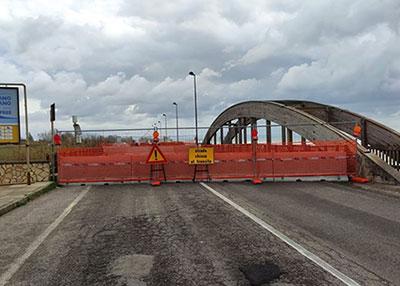 Pontecagnano, incontro in Provincia: ponte Asa verso la riapertura