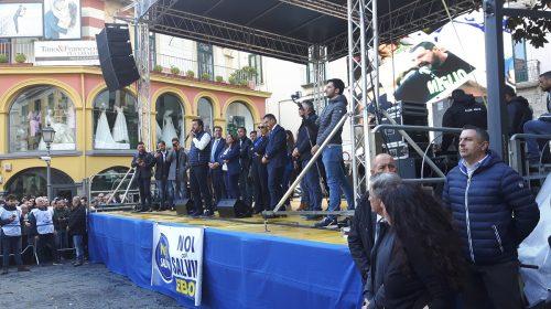"""""""La Campania che sogniamo"""", la Lega di Salvini si rivede a Salerno venerdì prossimo"""
