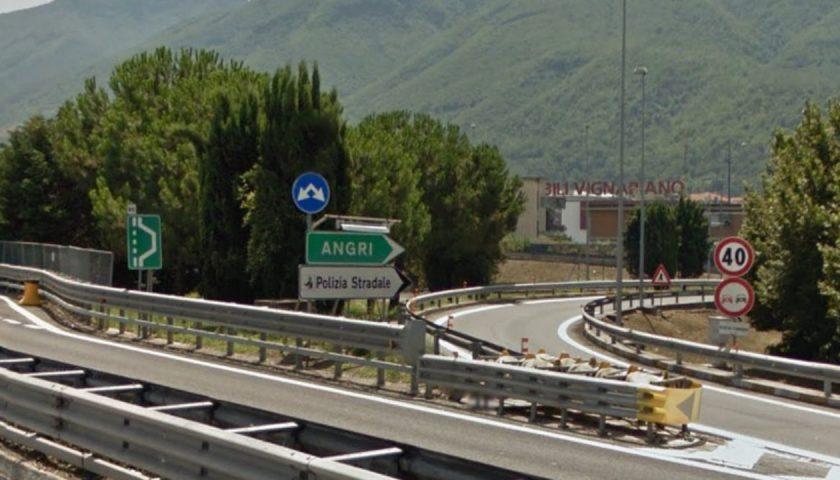A3, lavori di ripristino dopo un incidente: chiusa da stasera fino a domani mattina l'entrata di Angri Sud verso Napoli