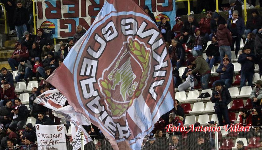 """Salernitana – Livorno: """"Tutti uniti all'Arechi"""", iniziativa per gli studenti"""