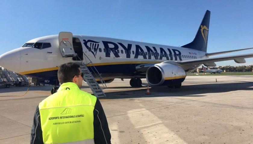 RYANAIR RIPRENDE I COLLEGAMENTI Da e per l'AEROPORTO DI NAPOLI CON 29 ROTTE PER l'estate 2020