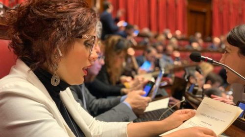 Manutenzione stradale, la deputata Anna Bilotti interroga il ministro