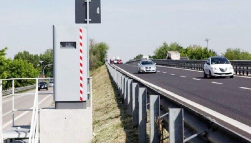 Attivati i nuovi autovelox sul raccordo autostradale Salerno – Avellino