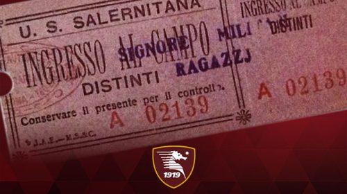 Frosinone – Salernitana, trasferta aperta solo ai possessori di Fidelity Card