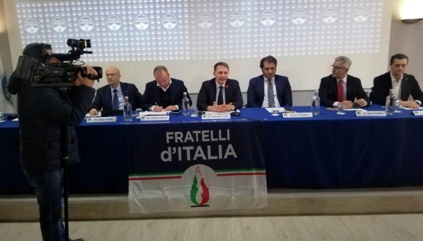 """Regionali, Cirielli da Salerno lancia la sfida di Fratelli d'Italia: """"De Luca sacrificato dal Pd"""""""