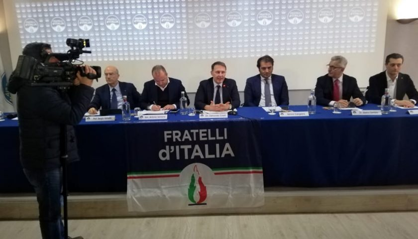 ASSEMBLEA PROVINCIALE DI FRATELLI D'ITALIA SALERNO