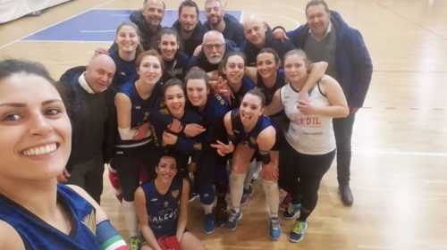 Saledil Guiscards, il team volley espugna il campo del Cus Napoli e si riprende il terzo posto in classifica