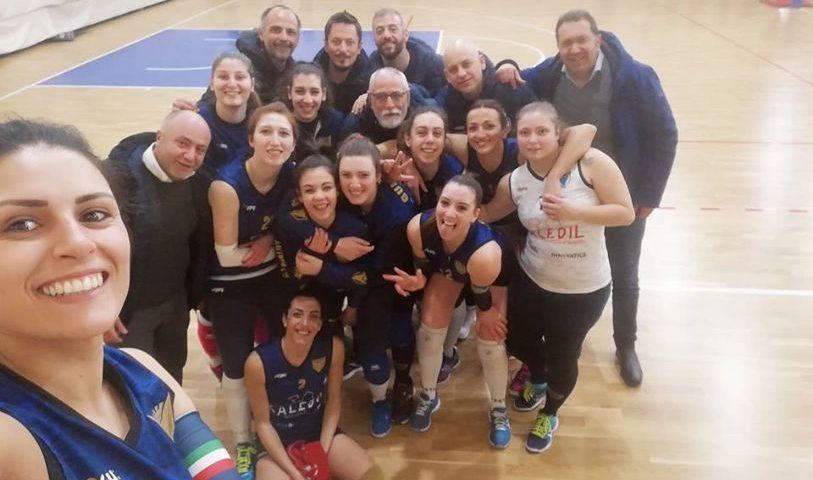 Saledil Guiscards, il team volley espugna il campo del Cus Napoli e si riprende il terzo posto in classifica