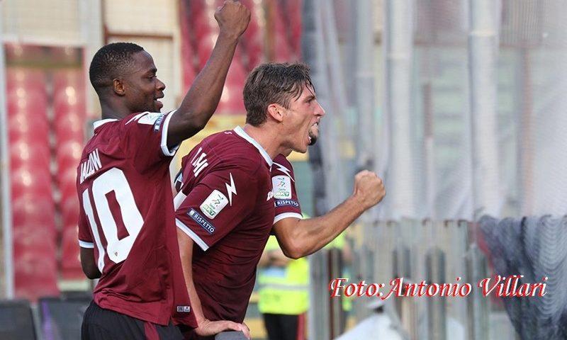 Salernitana, pareggio di rigore contro il Pordenone. Per i play off, ultima chance contro lo Spezia