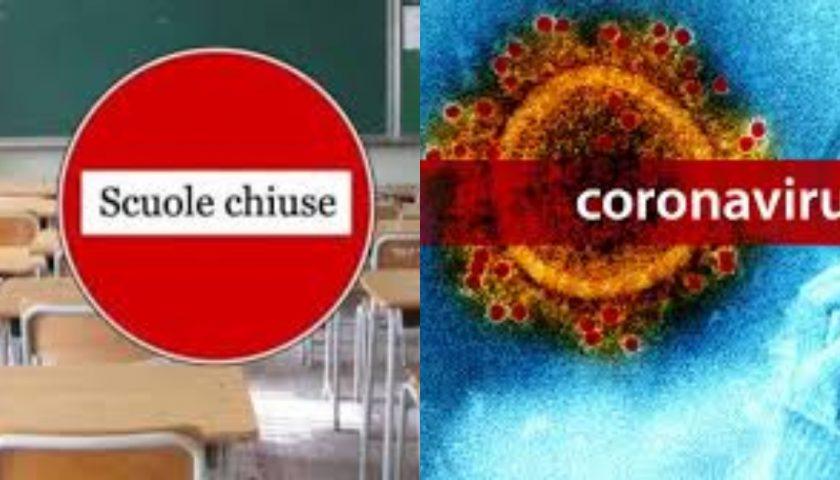 Coronavirus: Pagani scuole chiuse