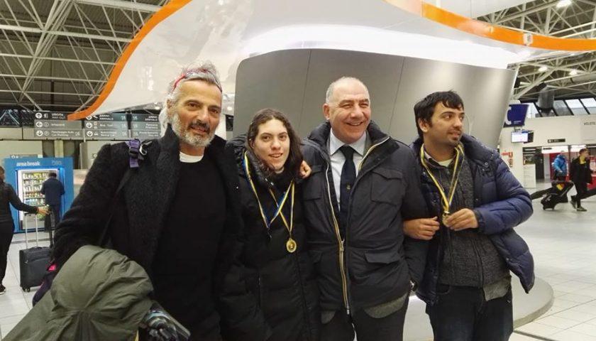 """Canottieri Irno, terzo posto di Piccininno e Annunziata alla regata internazionale """"D'inverno sul Po"""""""