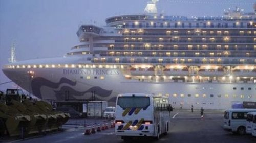 Coronavirus, positivo un italiano sulla nave Diamond Princess