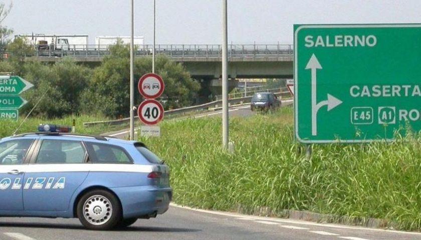 Lavori sull'A30 Caserta Salerno: domani chiude lo svincolo di Sarno