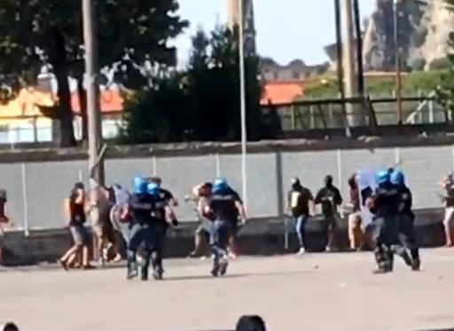 Scontri per Nocerina-Foggia, 32 tifosi a rischio processo