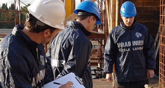 Amalfi, blitz dei Carabinieri in cantiere di noto albergo: scoperti 4 lavoratori in nero