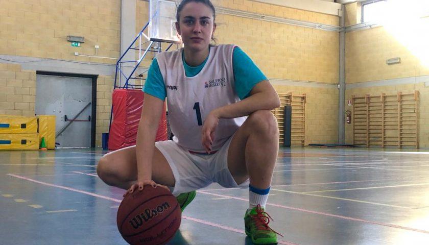 Rinforzo di spessore per la Todis Salerno Basket '92, ecco Arianna Iuliano