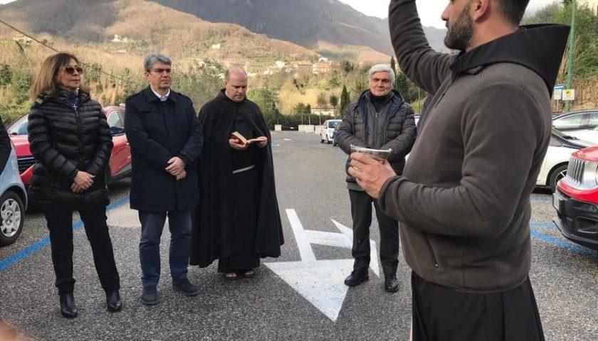 Cava de' Tirreni, inaugurato il parking San Francesco