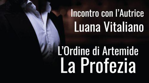 Presentazione L'Ordine di Artemide – La Profezia al Caffè Verdi di Salerno