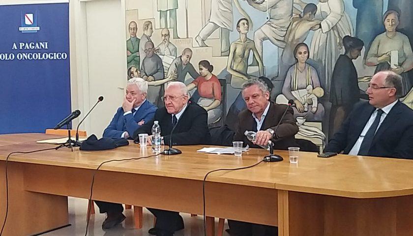 """Polo oncologico a Pagani, il facente funzioni Sessa attacca De Luca: """"Solo passerella politica e proclami"""""""