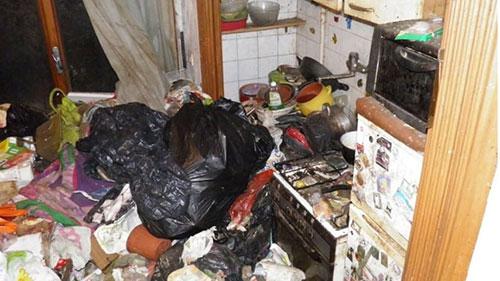 Scoperta choc a Scario: anziano sorpreso a vivere con 12 cani tra escrementi e rifiuti
