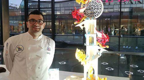 Argento alle Olimpiadi culinarie, Esposito fa onore ai pasticcieri della Costiera