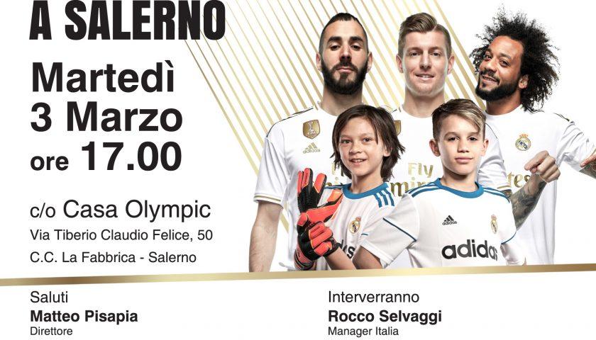 La Fundación Real Madrid Clinic sceglie Casa Olympic e il club biancorosso per il suo campus estivo
