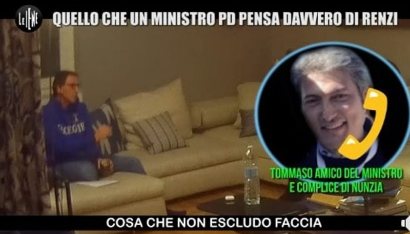 """Alle """"Iene"""" lo scherzo di Tommaso Pellegrino a Boccia: """"Tua moglie si candida con Renzi"""""""