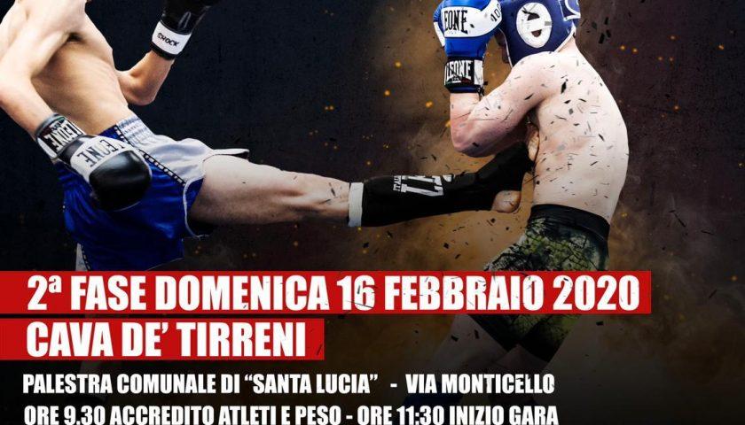 Kickboxing, a Cava de' Tirreni la 2ª Fase del Campionato Regionale Fight1