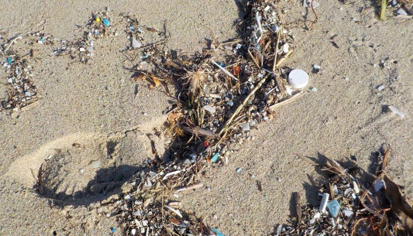 """Microplastica sulla spiaggia delle Saline e Palinuro, allarme dell'attivista: """"Può farci ammalare"""""""