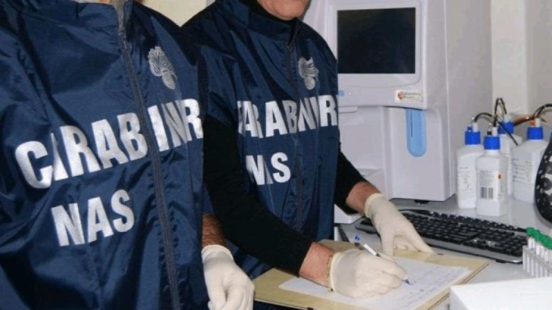 Dispostivi medici e cosmetici non a norma, blitz del Nas: sospesa attività di azienda salernitana