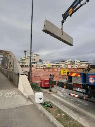 Ponte Asa a Pontecagnano, partiti i lavori ma è polemica sul transito a senso alternato