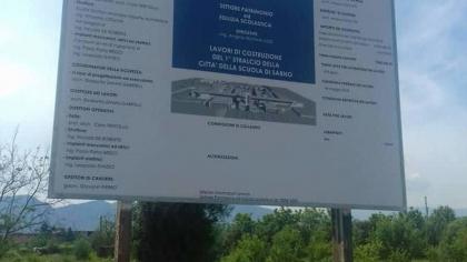 Città della Scuola a Sarno, il Tar boccia gli Architetti: si va davanti al Tribunale civile