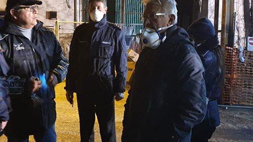 Allarme ambientale a Salerno, sversamento liquidi tossici nel fiume Irno