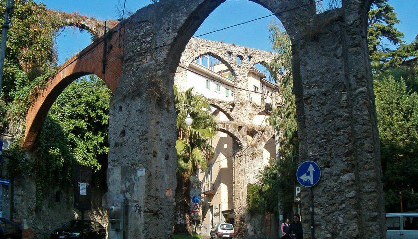 Progetto per salvare l'Acquedotto del Ponte dei Diavoli a Salerno: arrivano i primi 50mila euro
