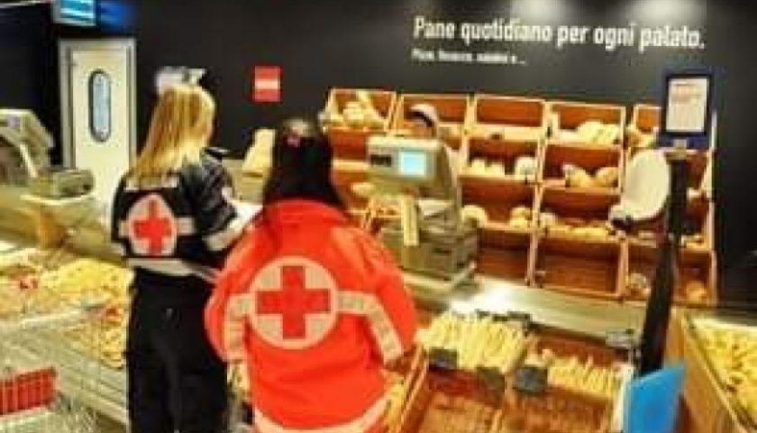 Coronavirus, attivato ad Angri il servizio pronto spesa con la Croce Rossa
