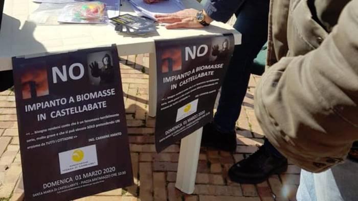 A Castellabate un corteo per dire No agli impianti a biomasse