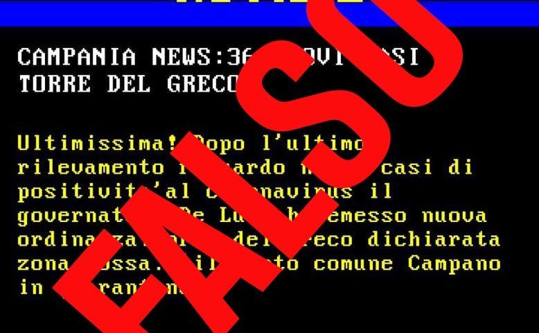 """De Luca contro la fake news sulla chiusura di Torre del Greco per coronavirus: """"Nessuna ordinanza, denuncio chi mette in giro queste voci"""""""