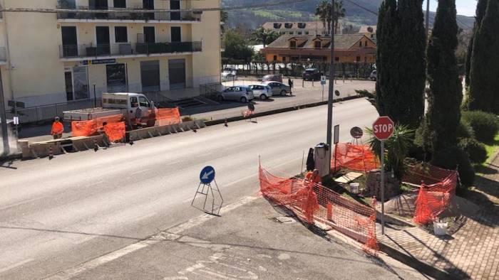Al via la riqualificazione dell'impianto semaforico al casale Malche di Giffoni Sei Casali