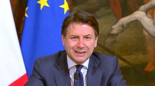 """Premier Conte: """"liquidità immediata per 400 miliardi di euro alle nostre imprese. E' una potenza di fuoco"""""""
