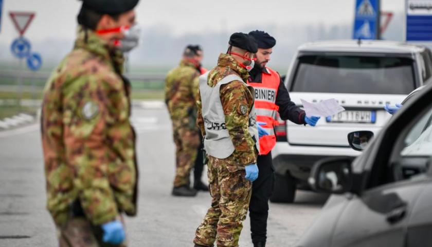 Esercito arrivato nel Salernitano: militari presidiano i 4 comuni in quarantena