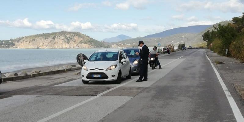 """A Camerota nessun positivo al covid, il sindaco: """"Turisti identificati con posti di blocco anche a piedi"""""""