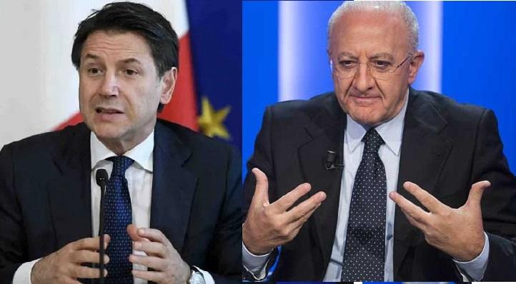 Conte rassicura De Luca sugli esodi dal Nord Italia