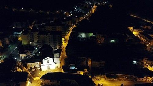 A Cava de' Tirreni il sindaco utilizza i droni per gli spostamenti della gente