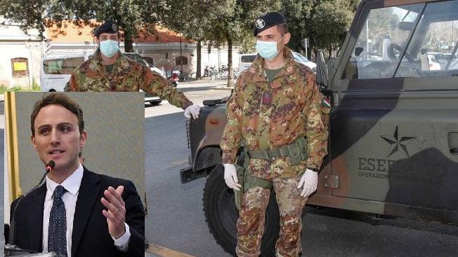 Troppi contagi e tanta gente in strada, a Pagani arriva l'Esercito