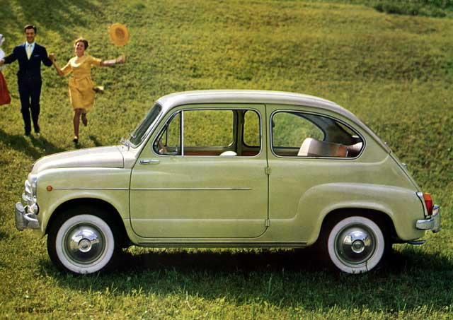 Accadde oggi: il 9 marzo del 1955 presentazione a Ginevra della Fiat 600, simbolo del boom economico italiano