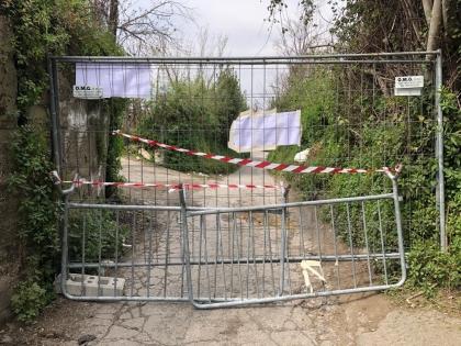 Sport in strada nonostante i divieti, il sindaco di Corbara chiude la strada